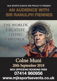 Sir Ranulph Fiennes Colne Muni