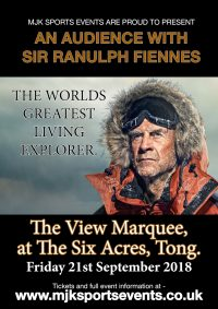 Sir Ranulph Fiennes Bradford